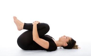 Apanasana- Calming and Grounding Yoga Pose